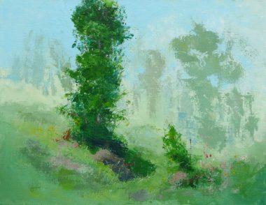 Dans les collines 13 - Acrylique sur toile 24x36po