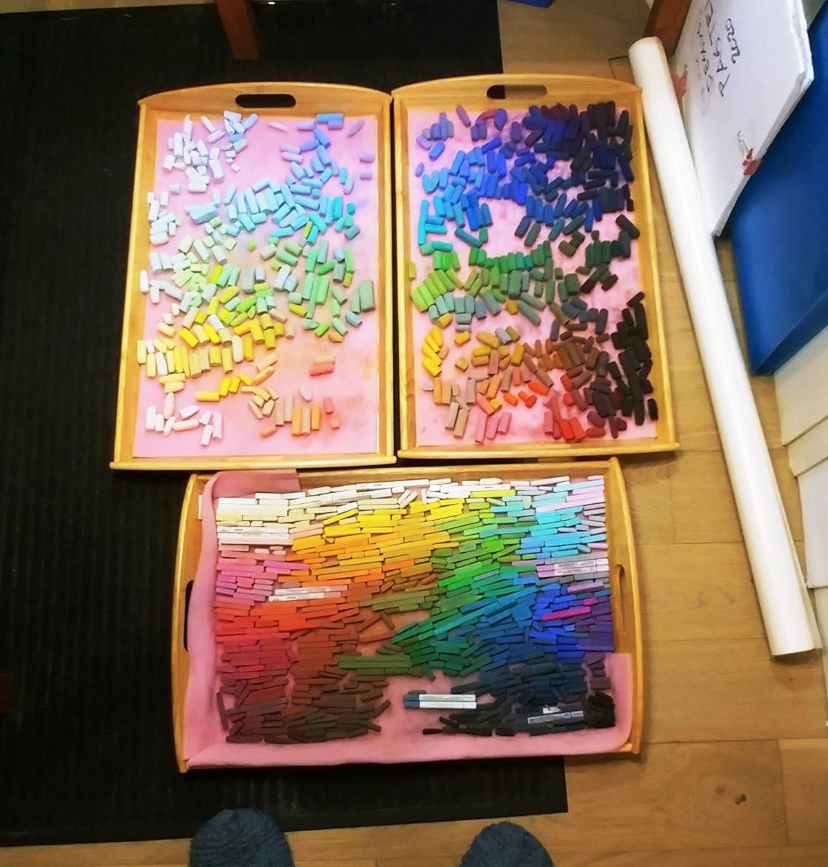 Mes pastels