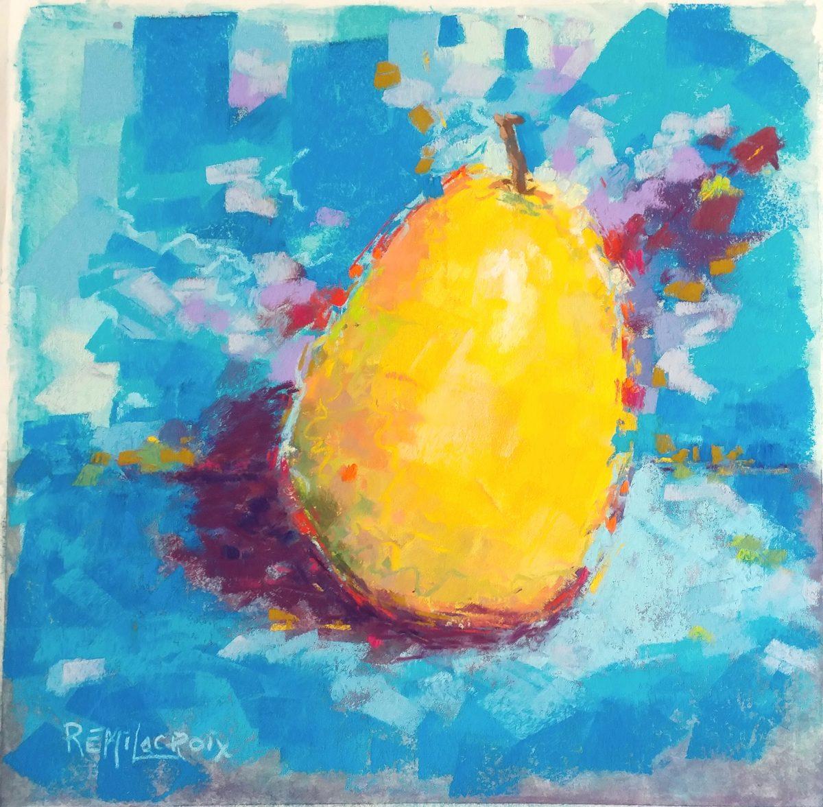 Rémi Lacroix artiste - Pastel no 12 du défi Create30Challenge 2021