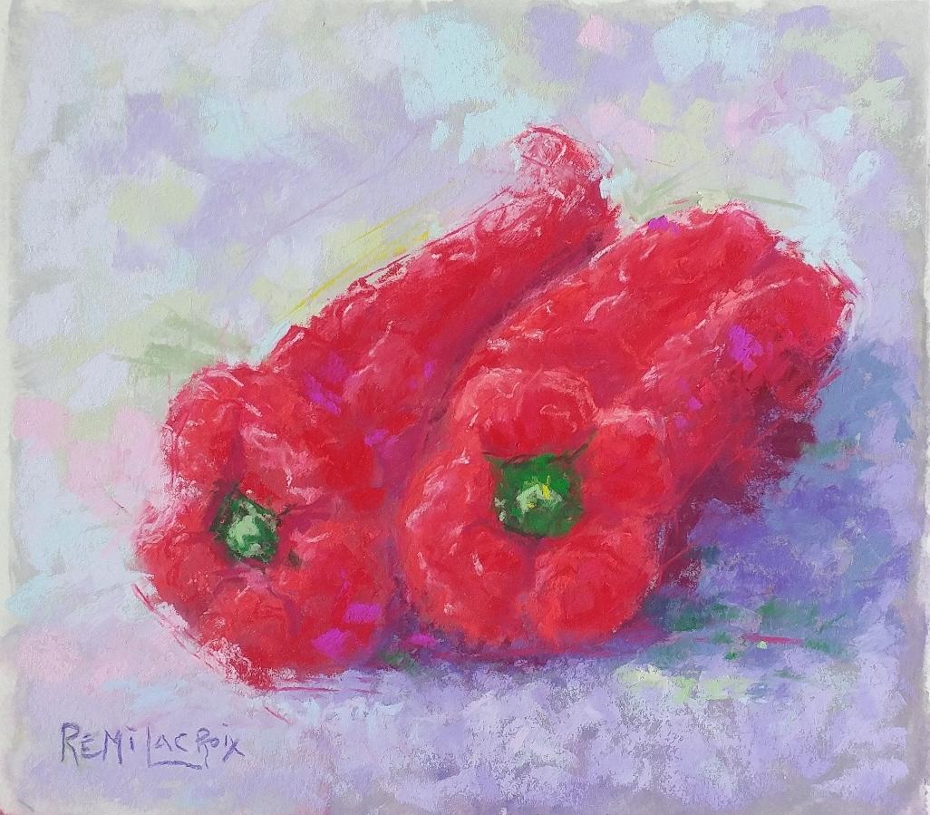 Rémi Lacroix artiste – Pastel no 18 du défi Create30Challenge